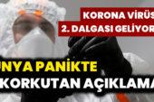Korkutan Açıklama Korona Virüs 2. Dalgası Geliyor Mu? Dünya Panikte